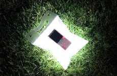 Solar-Powered Inflatible Lanterns