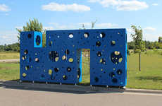 Imaginatively Abstract Playgrounds