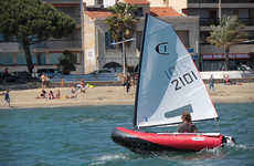 Versatile Inflatable Sailboats