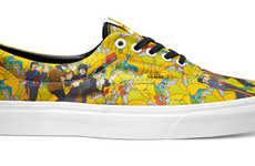 Iconic Band Tribute Sneakers