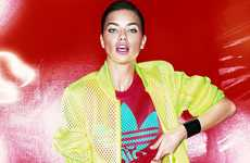 Fashionably Fierce Wrestler Editorials