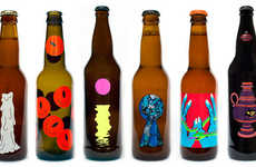 Daydream-Inspired Beer Labels