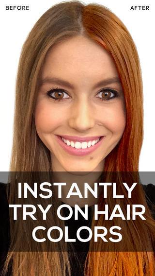 Hue-Altering Hair Apps