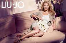 Lazy Lounging Supermodel Lookbooks