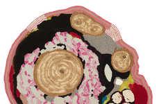 Topographic Rug Decor