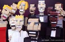 LEGO Celebrity Selfie Recreations