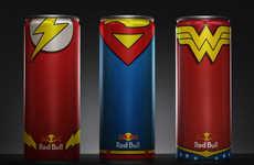 Superhero-Fuelling Energy Drinks