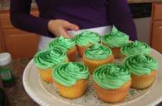 Shamrock Milkshake Cupcake Recipes