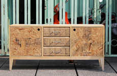 Recycled Pine Dressers