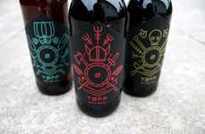 Viking-Inspired Beer Branding
