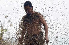 Bee Bearding Publicity Stunts