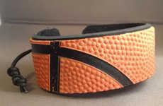 Upcycled Basketball Bracelets