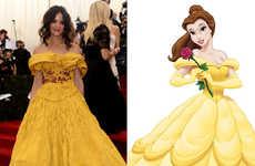 Disney-Themed MET Gala Dresses