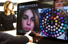 Augmented Reality Makeup Mirrors