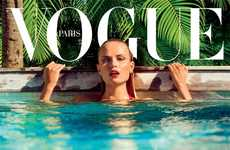 100 Steamy Poolside Editorials