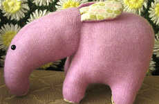 Toys from Recycled Clothing