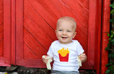 Baby Burger Rompers