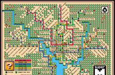 25 Transit Map Design Finds