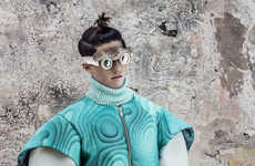 60 Futuristic Menswear Editorials