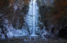 Frozen Waterfall Photography
