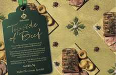 Grocery Gift Wrap Ads