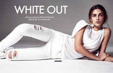Athletic Whiteout Editorials