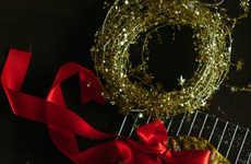 Edible Holiday Wreaths