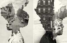 Personified Cityscape Portraits