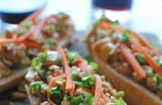 Nutty Open-Faced Sandwiches