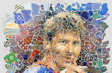 Soccer Player Mosaics