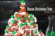 Bacon Christmas Trees