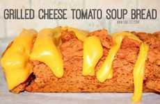 Cheesy Tomato Soup Loafs