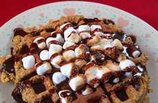 Campfire Treat Waffles