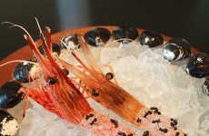 Ant-Covered Shrimp Delicacies