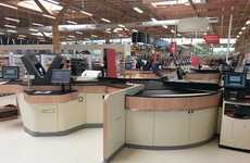 High-Tech Store Checkouts