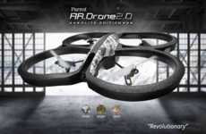 Sleek Helicopter Drones