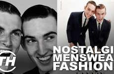 Nostalgic Menswear Fashions