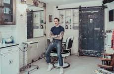 Nostalgic Barbershop Photography