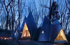 Triangular Timber Abodes