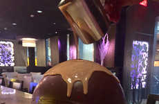 Spherical Chocolate Desserts