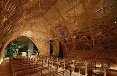 Cavernous Hand-Carved Chapels