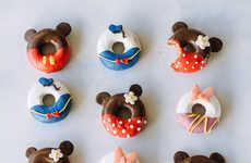 Cartoon Character Pastries