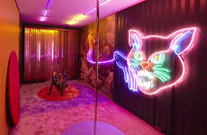Haunting Playhouse Installations