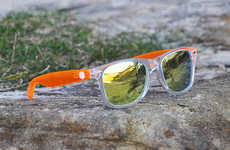 Reflective Beach Eyewear
