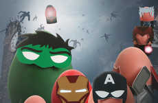 Superhero Egg Costumes