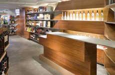 Futuristic Liquor Store Displays