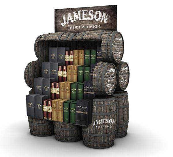 Agricultural Alcohol Displays