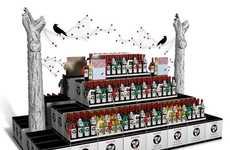 Spooky Wine Kiosks
