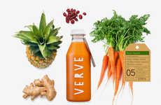 Detoxifying Juice Branding
