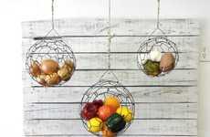 Suspended Fruit Baskets